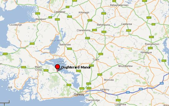 Oughterard Map